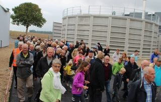 Guidede ture ved Åbent hus på Solrød Biogas