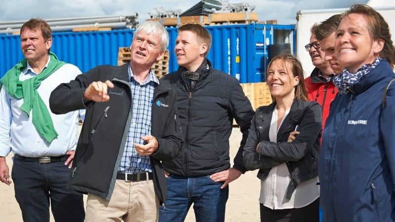 Politisk besøg på Solrød Biogas