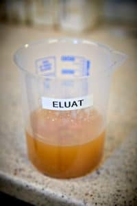 Fig. 22b Eluat fra Solrød Biogas