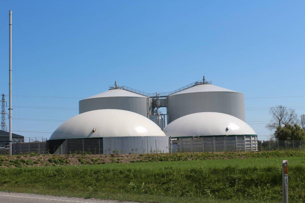 Biogaslager Solrød Biogas