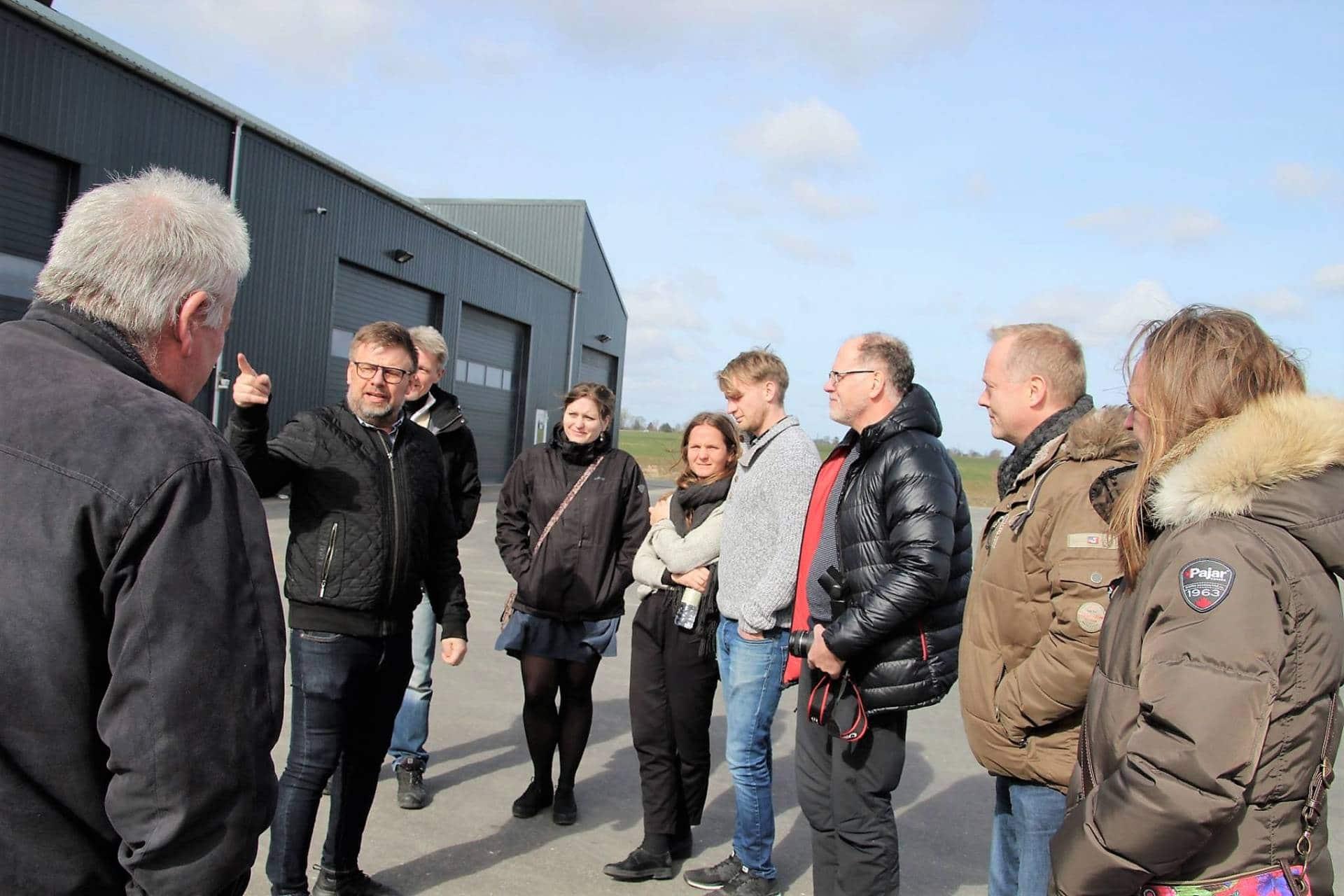 Solrød Biogas besøg2