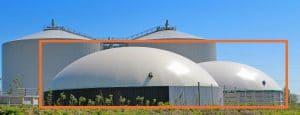 Biogaslager, Solrød Biogas
