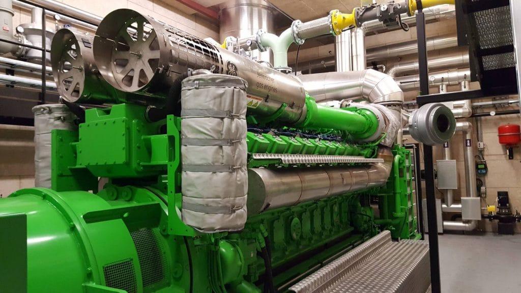 VEKS gasmotor, Solrød Biogas