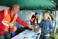 Børnequiz til åbent hus på Solrød Biogas
