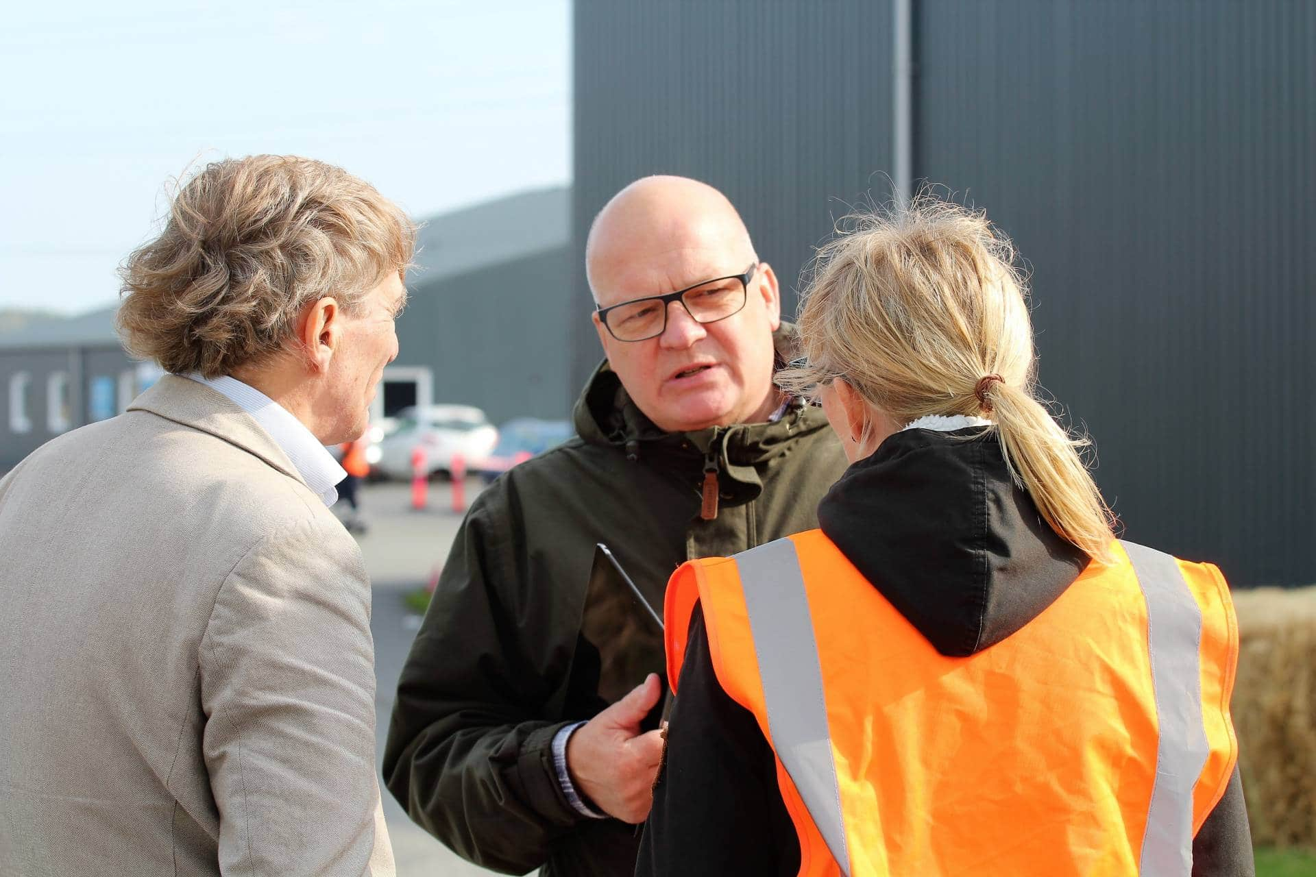 Niels Hörup, Åbet hus, Solrød Biogas