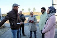 Gruppe fra Malaysia på besøg hos Solrød Biogas