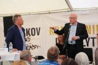 Niels Hörup på Folkemødet