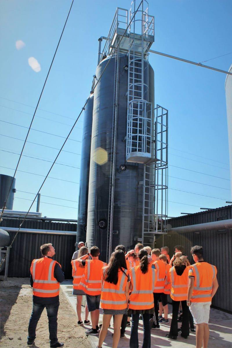 Nyt hygiejniseringsanlæg på Solrød Biogas.