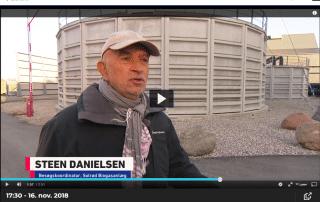 Steen Danielsen Solrød Biogas i TV2 Lorry