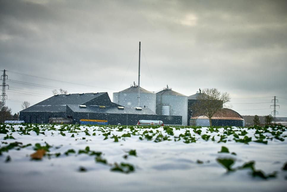 Nyt fjernvarmeanlæg fra Solrød Biogas
